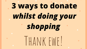 Donating the easy way